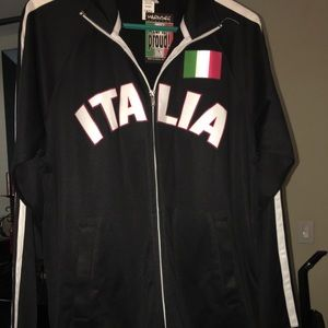 Other - Italia track jacket. NWT